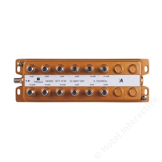 ACT 12 M; 12-way M-tap unsymmetrical 13...22 dB