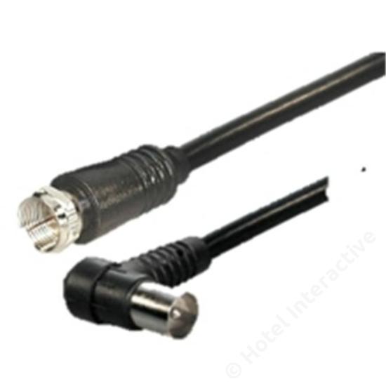 Cable, Coax F-IEC, 1.5 m